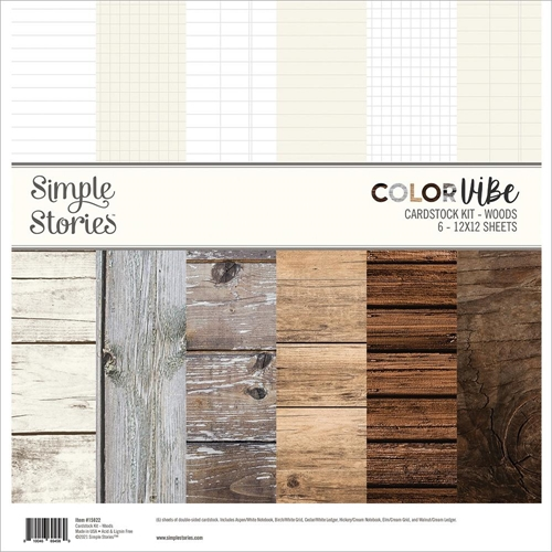 Simple Stories Woods 12x12 Paper Pack