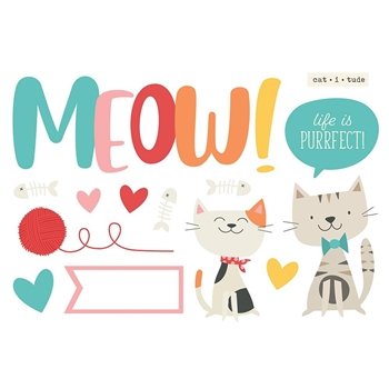 Simple Stories MEOW Page Pieces 15929