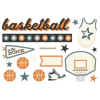 Simple Stories BASKETBALL Page Pieces 15933