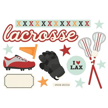 Simple Stories LACROSSE Page Pieces 15939