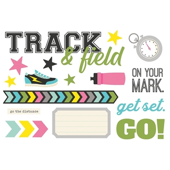 Simple Stories TRACK AND FIELD Page Pieces 15944