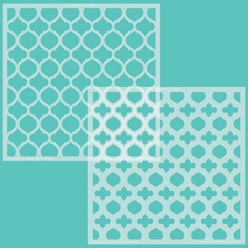 Honey Bee QUATREFOIL LAYERS Stencil hbsl082