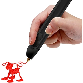 WobbleWorks Inc. CREATE 3D PRINTING PEN Set Onyx Black b07b7pqczv