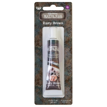 Prima Marketing RUSTY BROWN Finnabair Art Alchemy Matte Wax 967888