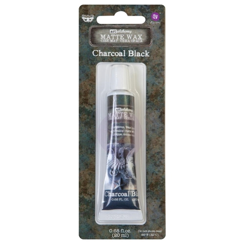 Prima Marketing CHARCOAL BLACK Finnabair Art Alchemy Matte Wax 967901 Preview Image