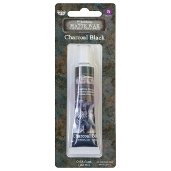 Prima Marketing CHARCOAL BLACK Finnabair Art Alchemy Matte Wax 967901