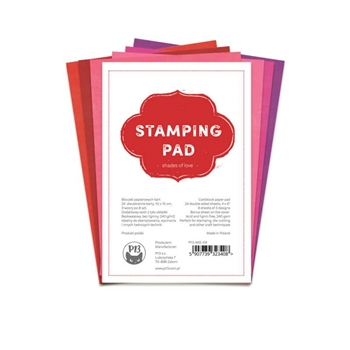 P13 Stamping Paper Pad SHADES OF LOVE P13 MIS 09