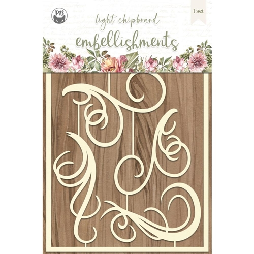 P13 ALWAYS AND FOREVER Light Chipboard Embellishment P13 ALW 43 Preview Image