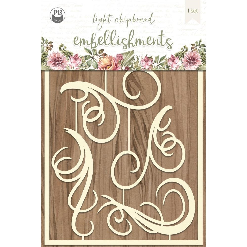 P13 ALWAYS AND FOREVER Light Chipboard Embellishment P13 ALW 43 zoom image