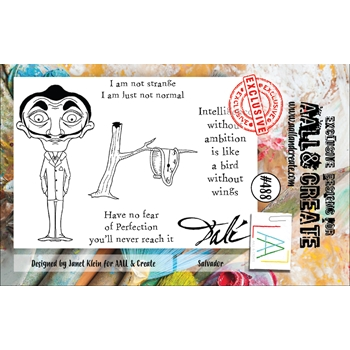 AALL & Create SALVADOR A7 Clear Stamp Set aall488