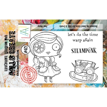 AALL & Create TIME WARP A7 Clear Stamp Set aall472