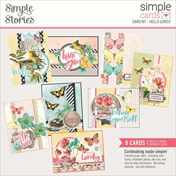 Simple Stories HELLO LOVELY Card Kit 14735