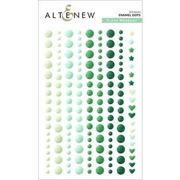 Altenew GREEN MEADOWS Enamel Dots ALT4783