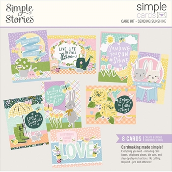 Simple Stories SENDING SUNSHINE Card Kit 14628