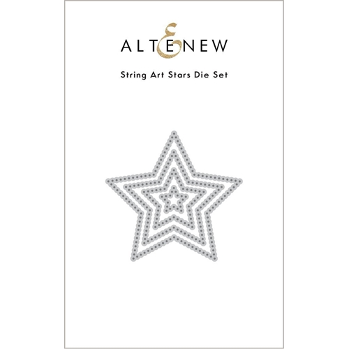 Altenew STRING ART STARS Dies ALT4887 Preview Image