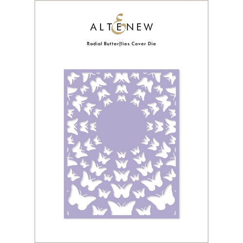 Altenew RADIAL BUTTERFLIES Cover Die ALT4886 Preview Image