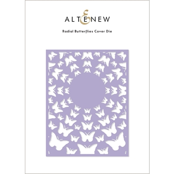 Altenew RADIAL BUTTERFLIES Cover Die ALT4886
