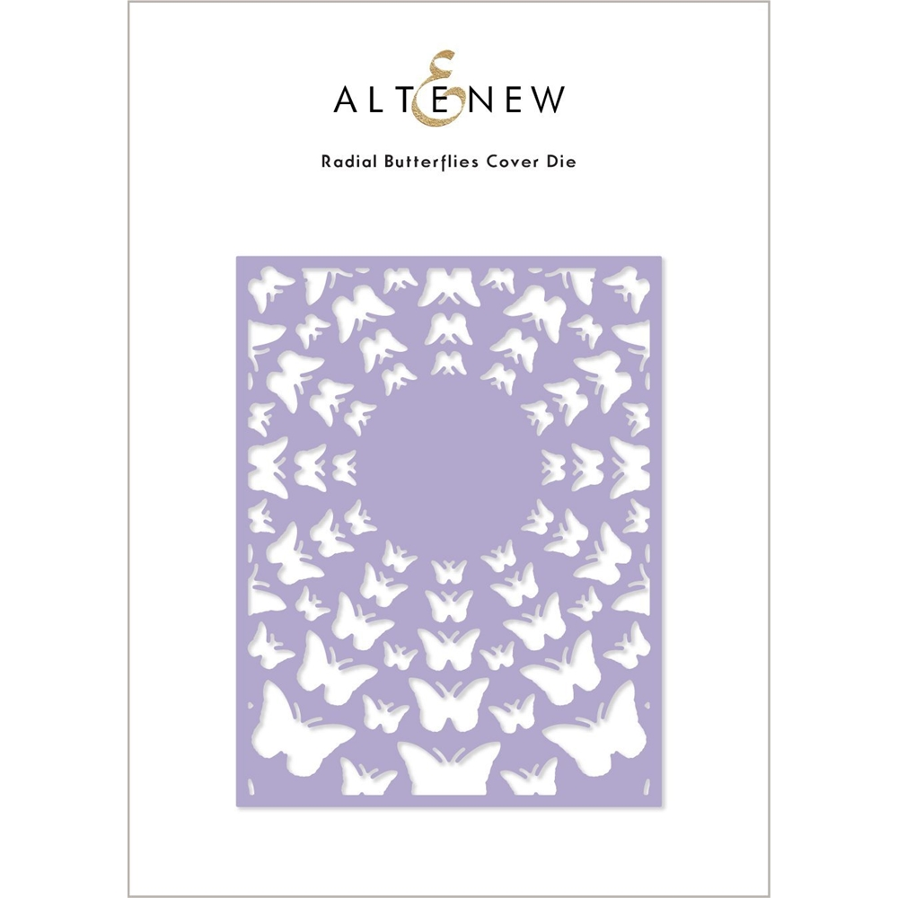 Altenew RADIAL BUTTERFLIES Cover Die ALT4886 zoom image