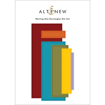 Altenew NESTING SLIM RECTANGLES Dies ALT4885