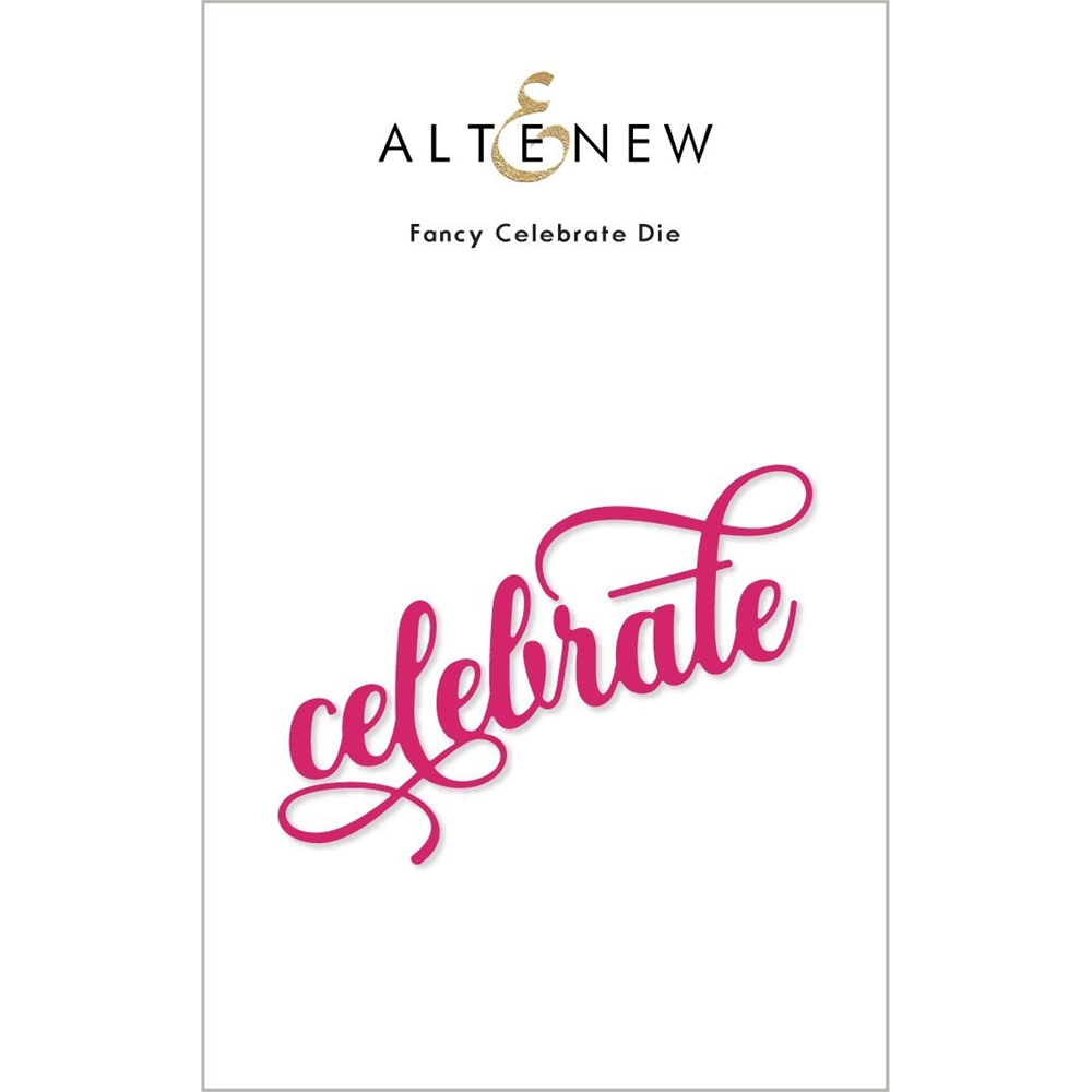 Altenew FANCY CELEBRATE Die ALT4883 zoom image