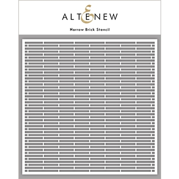 Altenew NARROW BRICK Stencil ALT4880