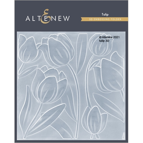 Altenew TULIP 3D Embossing Folder ALT4875 Preview Image