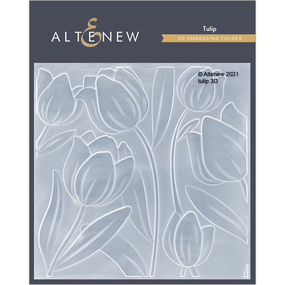 Altenew TULIP 3D Embossing Folder ALT4875 zoom image