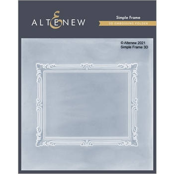 Altenew SIMPLE FRAMES 3D Embossing Folder ALT4874