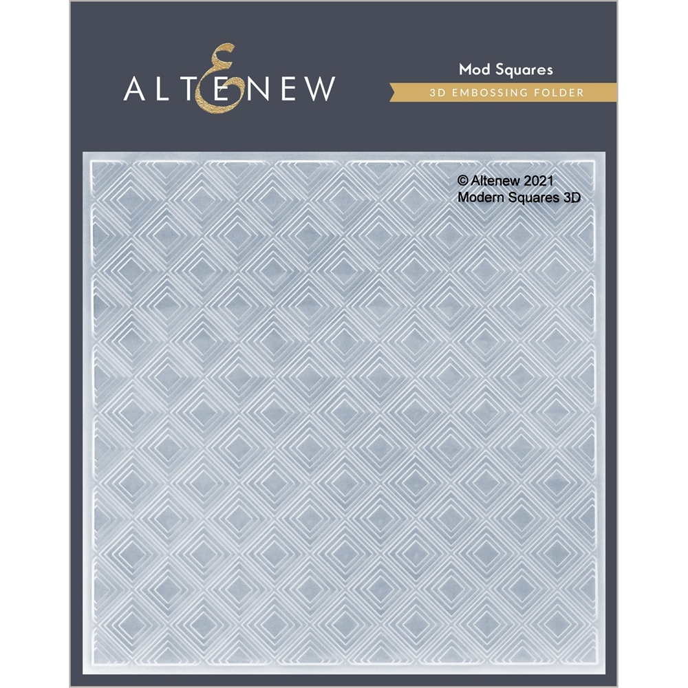 Altenew MOD SQUARES 3D Embossing Folder ALT4872 zoom image