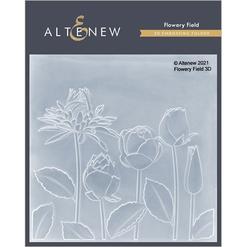Altenew FLOWERY FIELD 3D Embossing Folder ALT4870 Preview Image