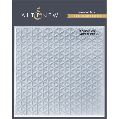 Altenew DIAMOND STARS 3D Embossing Folder ALT4869 Preview Image
