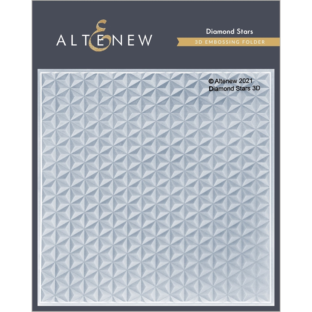 Altenew DIAMOND STARS 3D Embossing Folder ALT4869 zoom image