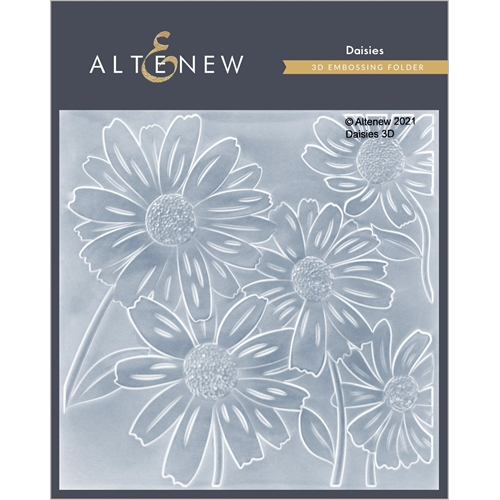 Altenew DAISIES 3D Embossing Folder ALT4868 Preview Image
