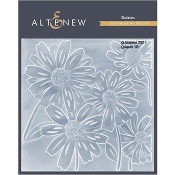 Altenew DAISIES 3D Embossing Folder ALT4868