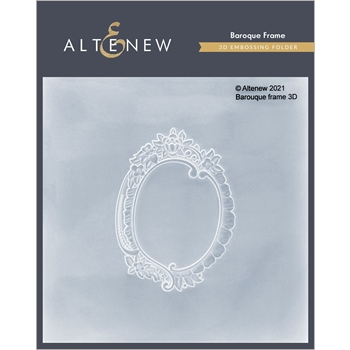 Altenew BAROQUE FRAME 3D Embossing Folder ALT4866
