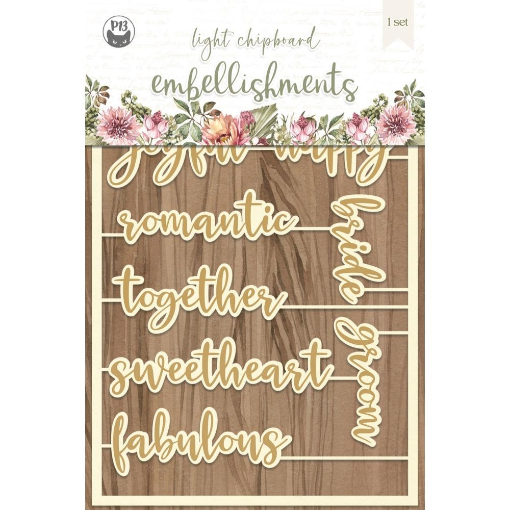 P13 ALWAYS AND FOREVER Light Chipboard Embellishment P13 ALW 54 zoom image