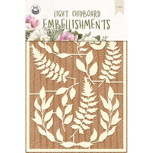 P13 FOREST TEA PARTY Light Chipboard Embellishments P13 FOR 47 Preview Image