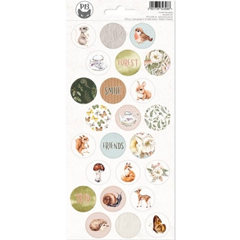 P13 FOREST TEA PARTY Sticker Sheet P13 FOR 13