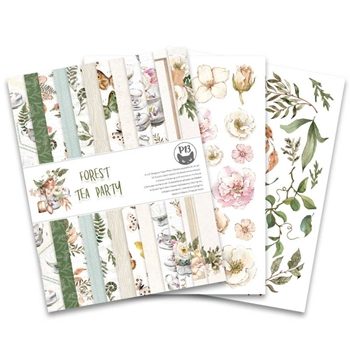 P13 FOREST TEA PARTY 6 x 8 inch Paper Pad P13 FOR 10