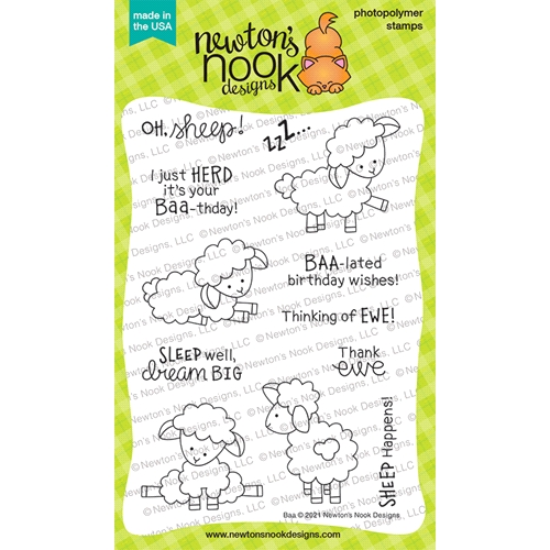 Newton's Nook Designs BAA Clear Stamps NN2102S01 Preview Image