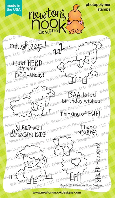 Newton's Nook Designs BAA Clear Stamps NN2102S01 zoom image