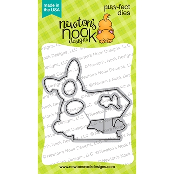 Newton's Nook Designs HOPPY GREETINGS Dies NN2102D02