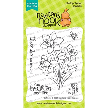 Newton's Nook Designs DAFFODILS Clear Stamps NN2102S04