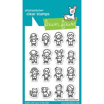 Lawn Fawn TINY FRIENDS Clear Stamps lf2506