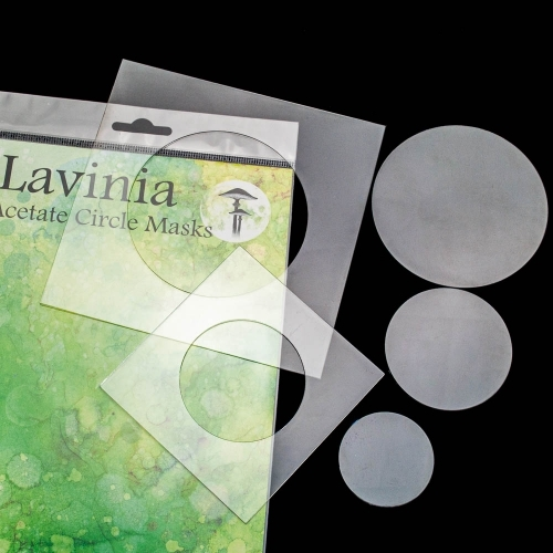 Lavinia Stamps ACETATE CIRCLE MASK Stencil LAM001 Preview Image