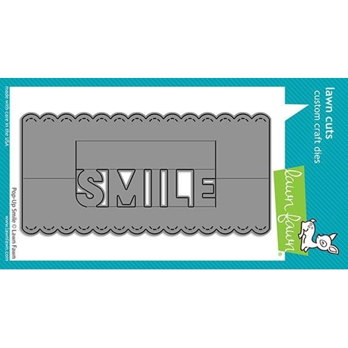 Lawn Fawn POP-UP SMILE Die Cut lf2528 ** Preview Image