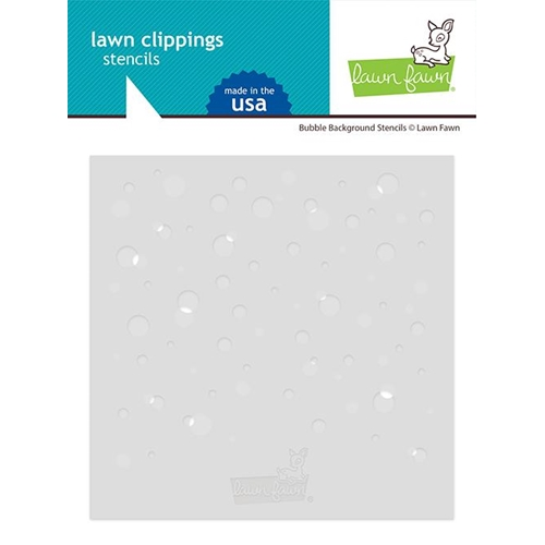Lawn Fawn BUBBLE BACKGROUND Stencils lf2534 Preview Image