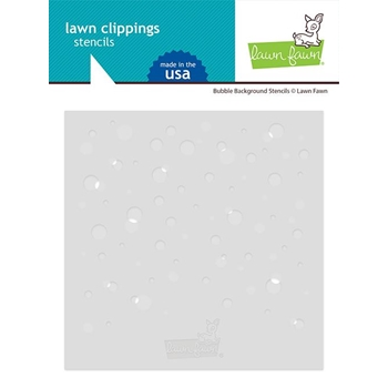 Lawn Fawn BUBBLE BACKGROUND Stencils lf2534