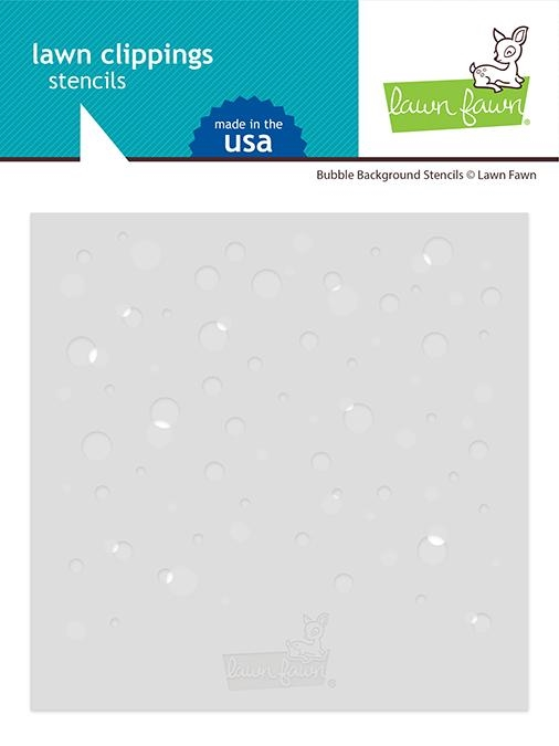 Lawn Fawn BUBBLE BACKGROUND Stencils lf2534 zoom image