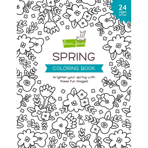 Lawn Fawn SPRING Coloring Book lf2540 Preview Image